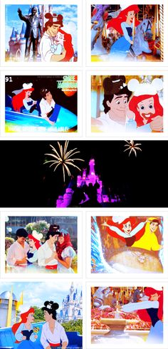 ariel & eric honeymoon at magic kingdom