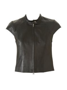 Tall Leather Top (no instructions)