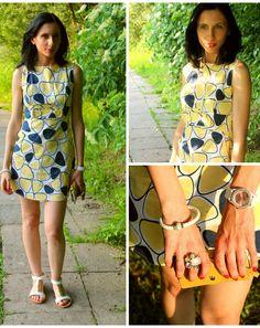 Stylizacja Retro styl dodana przez blogerkę modową modjus