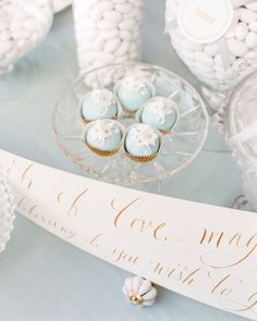 Michelle and Chris's Disney-Themed Wedding With a Sophisticated Spin - Sweet Treats