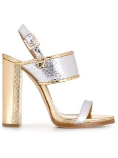 Dsquared2 snakeskin effect sandals