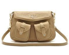Women's PU Across Body Bag with Pocket Detail