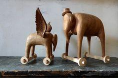 Animal Carvings by Matt Austin