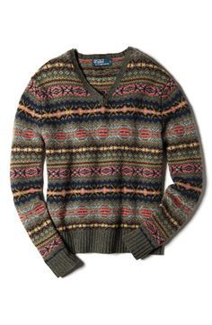 Polo Ralph Lauren Fair Isle Sweater Would kill for this sweater ...
