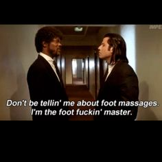 Pulp Fiction my favorite part Pulp Fiction Zitate, Pulp Fiction Quotes, Fiction Movies, Death Proof, Jackie Brown, Reservoir Dogs, Kill Bill, Movies Showing, Movies And Tv Shows