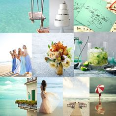 By the Seashore - would go well with my Cape May Wedding :)