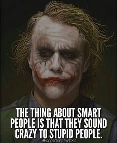 Quotes for Motivation and Inspiration QUOTATION - Image : As the quote says - Description Comment JOKER if you agree with this post. Dark Quotes, Wisdom Quotes, True Quotes, Motivational Quotes, Funny Quotes, Quotes On People, Dark Knight Quotes, Thug Life Quotes, Qoutes Deep