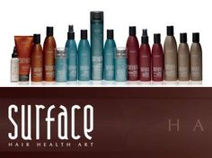 Surface Products~ love the smell and all natural and nourishment for your hair.. also great for any type of skin allergies and makes your hair feel super clean and gives it the ability to achieve that trendy messy look too.