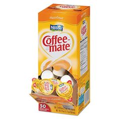 Coffee-mate 005000035180 Hazelnut Creamer, 0.375 oz. (Pack of 50) *** Click here for more details @ http://www.amazon.com/gp/product/B0005ZZFYQ/?tag=lizloveshoes-20&pmn=250716220644