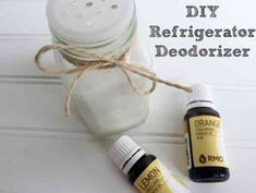 I've got a super quick, super easy cleaning tip for you today: DIY Refrigerator Deodorizer. Cleaning With Peroxide, Baking Soda Cleaning, Household Cleaning Tips, Cleaning Wipes, Cleaning Hacks, Kitchen Cleaning, Household Cleaners, Hydrogen Peroxide, Deep Cleaning