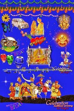Download Adobe Photoshop, Photoshop Plugins, Free Photoshop, Photoshop Design, Wedding Banner Design, Indian Wedding Album Design, Wedding Symbols, Indian Wedding Invitation Cards, Backgrounds Free
