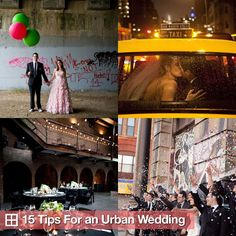"According to Style Me Pretty ""Brick is the new backyard"". See more about urban weddings with this tip list."