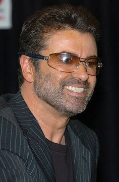 George Michael during George Michael Signs Copies of his new CD 'Patience' at Virgin Megastore - Times Square in New York City, New York, United States.