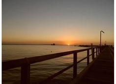 Sunset at Fraser Island ferry boat pier Sand Island, Sunset Love, Fraser Island, Ferry Boat, Nice Place, Kingfisher, Shutterfly, Sunrise, Coastal