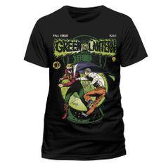 Camiseta Linterna Verde Cómic. DC Cómics Camiseta con un bonito diseño del personaje de Linterna Verde (Green Lantern), uno de los héroes de la factoría DC Cómics. Ideal como regalo para cualquier fan.