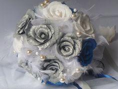 Wedding BouquetBridal BouquetPaper Bridal by InspirellaDesign