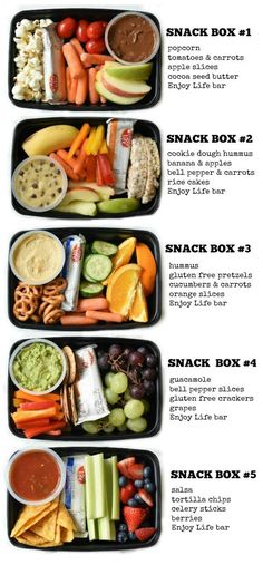 KIDS SNACK BENTO BOXES - Food Inspiration Healthy