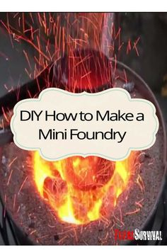 This might be 1 item that is overlooked by preppers, survivalists and homesteaders that is vital to your survival. Your About to Discover How to Build a Powerful Mini Foundry That Can Melt Scrap Metal in Seconds and Also be Used as a Nice Planter When Not in Use. http://totalsurvival.net/diy-how-to-make-a-powerful-mini-foundry/