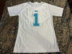 2870b5fbc Cam Newton  1 Carolina Panthers NFL Jersey Youth Girls Size L (14-16