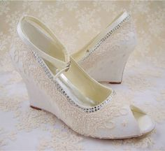 wedding shoes for bride - Google Search