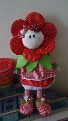 Flor muñeca