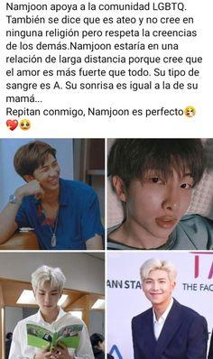 Namjoom is perfect Namjoon, Bts Bangtan Boy, Rapmon, Bts Memes, Bts Rap Monster, Memes Historia, K Pop, Mixtape, Bts Facts