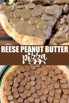 Reese Peanut Butter Pizza – only three ingredients in this sinfully delicious dessert recipe! Reese Peanut Butter Pizza – only three ingredients in this sinfully delicious dessert recipe! Easy Desserts, Delicious Desserts, Dessert Recipes, Healthy Desserts, Yummy Food, Tasty, Homemade Chocolate, Chocolate Desserts, Chocolate Pizza