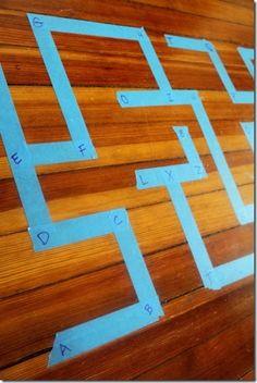 alphabet mazes kids activity for preschoolers