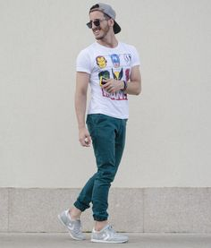 Outfit Men, Fashion Men, Men Style, Converse, Marvel t-shirt, summer look - www.rodrigoperek.com