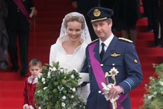 Wedding of HRH Prince Philippe and HRH Princess Mathilde