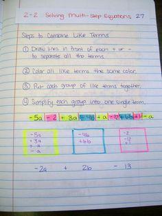 Math = Love: interactive notebook Great blog of a first year Math Teacher