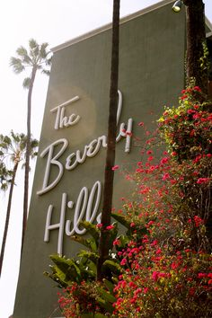 The Beverly Hills Hotel #LAliving