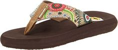 Rocket Dog Women's Spotlight Natural Conga Cotton Sandal 9 M
