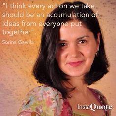 Sorina's quote