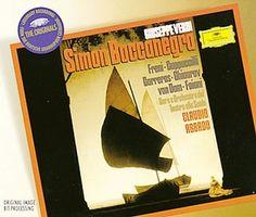 VERDI Simon Boccanegra - Abbado - Deutsche Grammophon