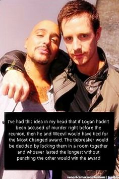 Veronica Mars Confessions....ha. I would love to see this happen.