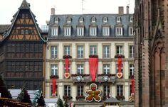 A visit to the Strasbourg Christmas markets will put you in the holiday mood.
