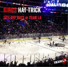 Carter's Hat Trick Tonight.. time to get a new hat...