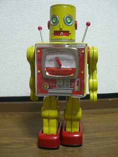Meter Robot Tin Toy by Metal House Japan Made in Japan Tokyo Collector Item | eBay
