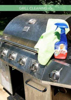 #Clean It: How To Make Your Grill Look Brand New