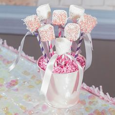 DIY #Princess Marshmallow Pops