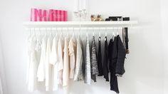 Afbeeldingsresultaat voor kledingrekken in slaapkamer tumblr