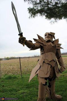 The Cardboard Warrior