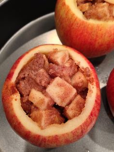 Baked Apples with Nikki's Pumpkin Spiced Donut Coconut Butter