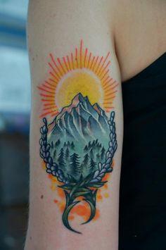 mountain tattoo   Tumblr