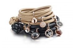 Tirisi Moda collection by Tirisi Jewelry ~ Bracelets with the finest Italian leather