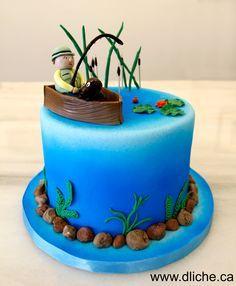 Gâteau de pêcheur ! Cake fit for a fisherman! Plus
