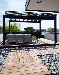 Deck & stones, love it!
