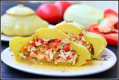 Faszerowane patisony Potato Salad, Curry, Potatoes, Eggs, Breakfast, Ethnic Recipes, Fit, Morning Coffee, Curries