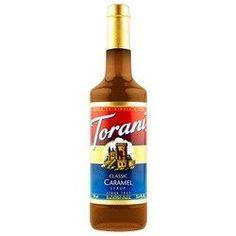 Torani Signature Caramel Syrup (6x10.1Oz)